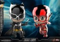 Hot Toys Cosbaby - Cosb398 - Justice League - Batman & The Flash ( Metallic Color Version )
