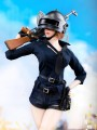 Manmodel - MM016A - 1/6 Scale Winner Winner Chiken Dinner Female COmbat Suit ( Dark Blue Version )