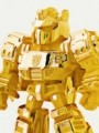 Kids Nation Mini Figure Series - 9cm Grimlock ( 24K Gold Plated Limited Edition )