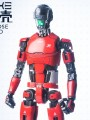 Pew Pew Gun - 1/6 Scale Figure Pinyike - All Purpose Humanoid - Test Type ( Red Color )