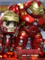 Hot Toys Cosbaby 196 - Avengers AOU Series 2.5 ( Hulkbuster with jackammer arm and Tony Stark in the Mark XLV armor )