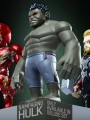 Hot Toys - Artist Mix Collectible - Deluxe Set of 5 ( AMC 9 - 12 ) + Rampaging Hulk )