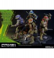 Prime 1 Studio - PS902721 Teenage Mutant Ninja Turtles Set of 4 Polystone Statue
