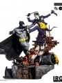 Iron Studios - 1/6 Scale Statue - Batman Vs Joker Battle Diorama