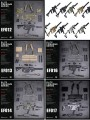 Dam Toys - Elite Firearms Series 3 - EF0012 to EF018 - Vector SMG - Tactical Set