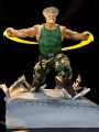 Kinetiquettes - 1/6 Scale Statue War Heroes Diorama - Street Fighter Guile