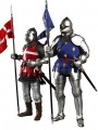 Coomodel - SE070 - 1/6 Scale Figure Diecast - Series Of Empire - Knight Of Saint Michel (Set Of 2 Figure)