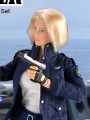 Flirty Girl - 1/6 Female Clothing Set - Enforcer Set B (Navy Blue)