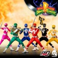 Threezero - 1/6 Scale Figure - Mighty Morphin Power Rangers - Core Rangers + Green Ranger Six Pack