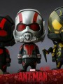 Hot Toys Cosbaby 189 - 190 : Ant Man - Set Of 3