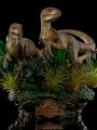 Iron Studios - 1/10 Scale Statue - Just The Two Raptors (Jurassic Park)