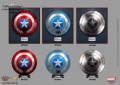 King Arts - 1/1 Scale Movie Props Series - Captain America Shield ( Set of 3 ) - Pedestal Style
