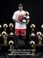 Dream Toy - 1/6 Scale - Career Achievements Of Michael Jordan Trophies