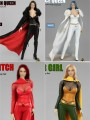 Flirty Girl Collectibles - 1/6 Scale Female Cosplay ( Black / White / Red / Green )