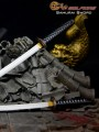 Wolfking - WK88004A - 1/6 Scale - Samurai Sword ( Black Version )