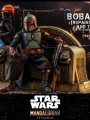 Hot Toys TMS056 - 1/6 Scale Figure - Boba Fett (Repaint Armor) And Throne
