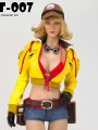 Cat Toys - CT007A - 1/6 Scale Female Repairman Suit ( Yellow Version )