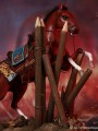 KLG - 010 - 1/6 Scale Bloody Battle Hall 1593 - Xuanwu Horses + Xuanwu Base Diorama