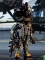 "Figure Base - 5"" Trickyman - TM004 - 160th SOAR "" Night Stalker "" Pilot"