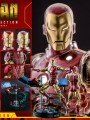Hot Toys CMS07D38 - 1/6 Scale Figure - Iron Man ( The Origin Collection ) DELUXE SET