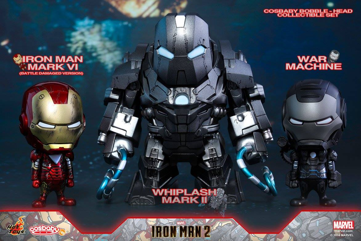 Cosbaby (S) Series COSB270 - Iron Man 2 - Iron Man Mark VI