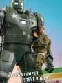 Hot Toys TMS60 - 1/6 Scale Figure - What If ? The Hydra Stomper And Steve Rogers