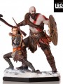 Iron Studios - 1/10 Scale Statue - Kratos and Atreus Deluxe
