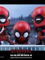 Hot Toys Cosb246 Deadpool Collectible Set ( Surprised Version , Fighting Pose Version , Heart Gesturing Version )