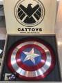 Cat Toys - 1/1 Scale Life Size - Captain America Shield Diecast