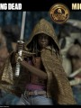 Threezero - 1/6 Scale Figure - Michonne with Michonne's pets walker Twin Pack ( Exclusive Version )