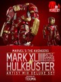 Hot Toys – AMC007 – Deluxe Set - Hulkbuster And Iron Man Mark XLIII Battle Damaged - Avengers: Age of Ultron - Artist Mix Figures Designed by Touma (Series 1)