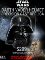 EFX Collectible - EFX01141029 - Star Wars A New Hope - Darth Vader Helmet Precision Cast Replica