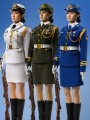 Phicen - Female Honor Guard from China ( 4 types : Army / Navy / Air Force / Militia )