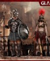 HY Toys - HH18019 - 1/6 Scale Figure - Empire Legion Gladiator + Female Warrior Red Version