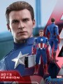 Hot Toys MMS563 - 1/6 Scale Figure - Avengers End Game - Captain America ( 2012 Version )