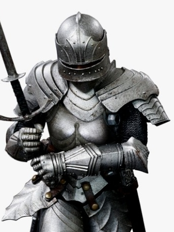 1:12 Pocket Empires Gothic Armored Knight Figure by COO Model PE011