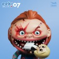 Stingray Art Studio - EEK! Big Mouth Horror Series #07 Chucky ( 4.5 Inch Tall )