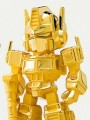 Kids Nation Mini Figure Series - 9cm Optimus Prime ( 24K Gold Plated Limited Edition )