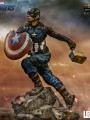 Iron Studios - 1/10 Scale Statue - Avengers End Game - Captain America ( Deluxe Version )