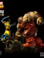 Iron Studios - 1/6 Scale Statue - Wolverine VS Juggernaut Battle Diorama