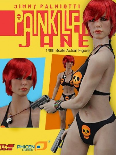 Phicen Painkiller Jane 1:6 Boxed Figure by Jimmy Palmiotti and Joe Quesada