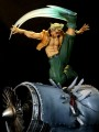 Kinetiquettes - 1/6 Scale Statue War Heroes Diorama - Street Fighter Nash