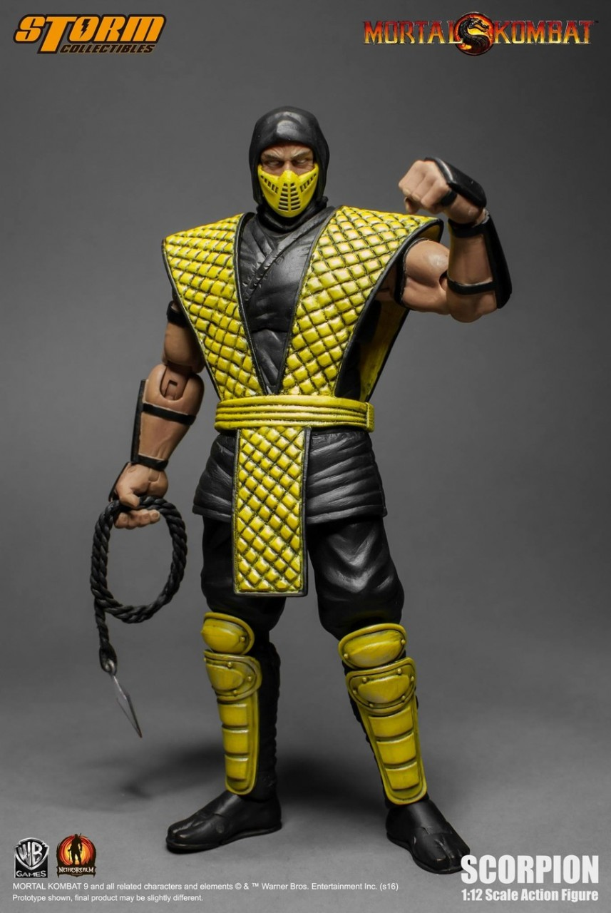 Storm Toys 24cm Mortal Kombat Series MOTARO Action Figure soldier Toy