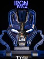 TYS Toys - 1:1 Scale - Iron Man Mark 2 Prototype Faceplate ( Deluxe Version )