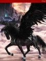 Lucifer Toys - LXF1095B2 - 1/6 Scale - Black Feathered Wings For The Black Horse