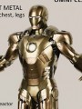 Comicave Studio - Omni Class 1/12 Scale Diecast Figure - Iron Man Mark 21 Midas