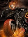 Mezco - 1/12 Scale Figure - Ghost Rider & Hell Cycle