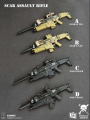 General's Armoury - GA003 - 1/6 Scale SCAR Assault Riffle ( 4 Type )