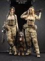 Verycool - VCF-2037ABC - 1/6 Scale Figure - A-TACS FG Double Woman Soldier - Jenner ( Deluxe Full Set )