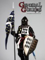 Coomodel - SE2001 - 1/6 Scale Diecast Figure - Series Of Empires - General Guards (Black Knights WF Limited Version)